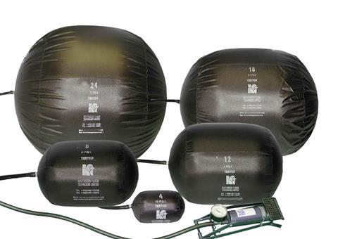 HFT's range of inflatable stoppers