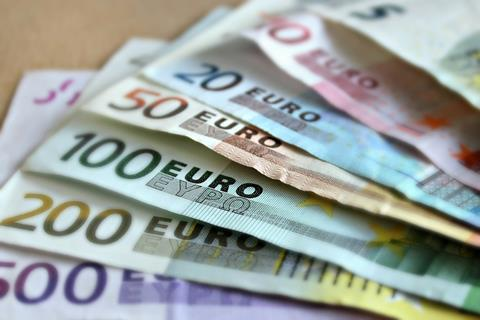 Euro currency euros money finance financial