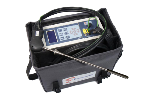 The E8500 analyser with sintered filter