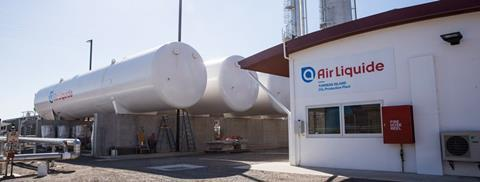 Air liquide's Australian CO2 capture plant