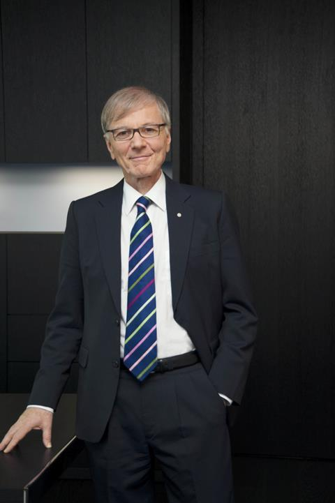 Stefan Messer, owner and CEO of the Messer Group