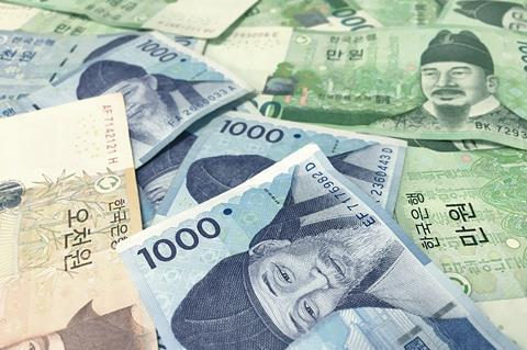 South korea currency money finance financial