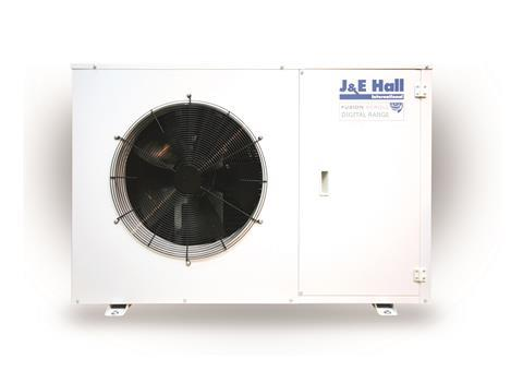 J & E Hall has extended its range of digital single scroll commercial condensing units.