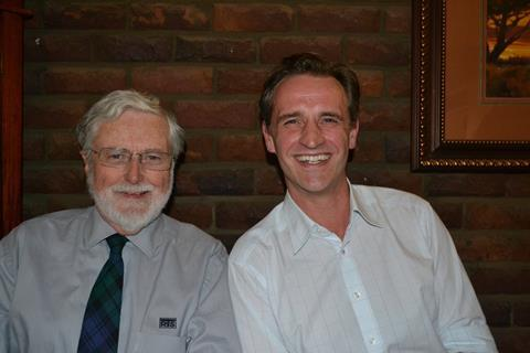 L-R: Ian Fraser, Managing Director of RTS Africa Engineering and Eric Dabe, Sales Director for Nel Hydrogen