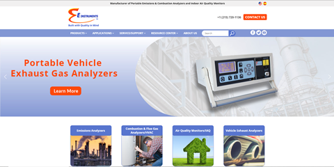 E Instrumnets new website