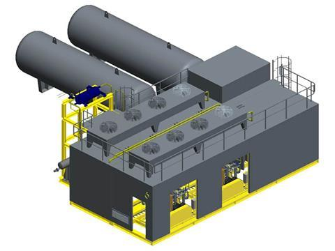 Pentair haffmans co2 recovery system for biogas upgraders