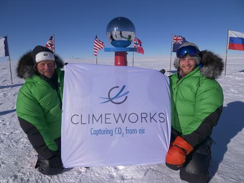 Swans at south pole with cw flag preview