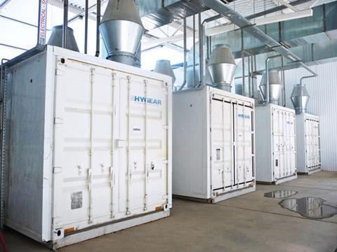 Hydrogen generation hy gear – June 2015