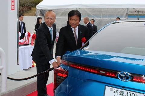 Air liquide japan opens new hydrogen site in kyushu