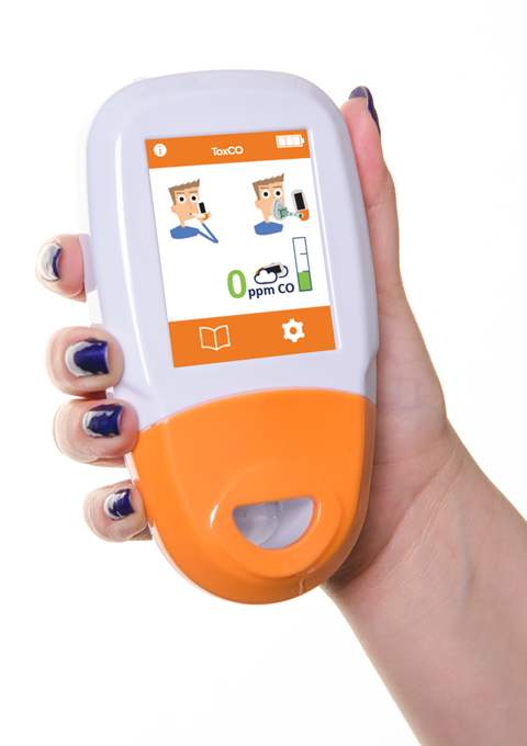 Hand held tox co monitor