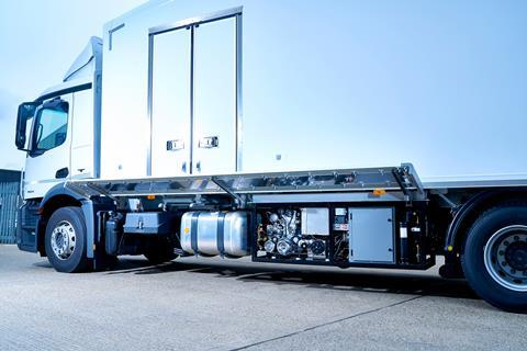 The Hubbard and Dearman high performance, zero-emission transport refrigeration unit