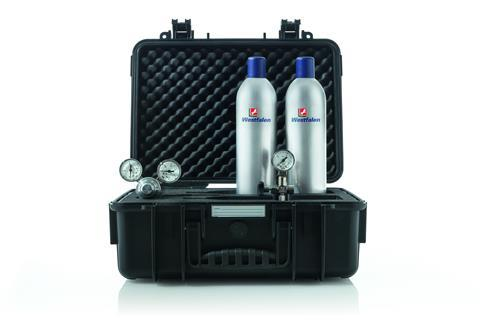 The Alumini 12 fly gas bottles
