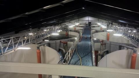 Smolt wanter tanks