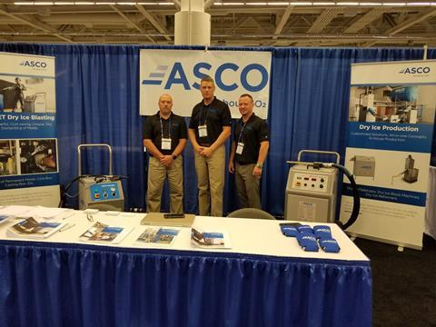 The team of ASCO Inc. was delighted to meet the many interested visitors in Cleveland.