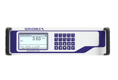 The SERVOPRO NOx analyser