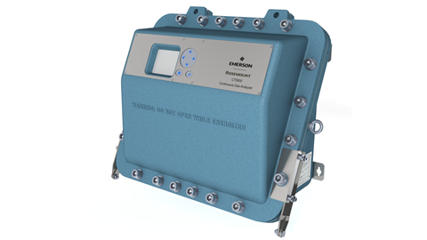 The Rosemount™ CT5800 continuous gas analyser.