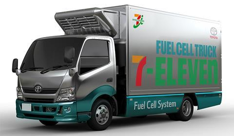 Fuel cell truck to be introduced in distribution (Tokyo metropolitan region)