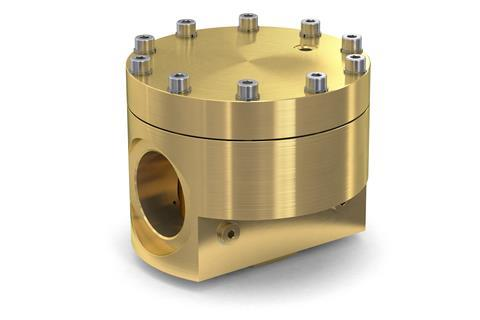 Witt's new dome loaded back pressure regulator