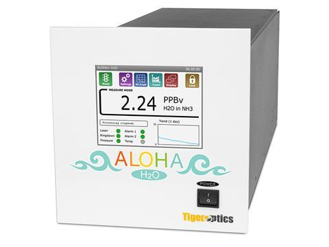 Tiger optics alohaplus h2 o analyser cropped