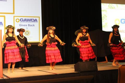 Gawda 2016 annual conference, traditional hawaiian welcome reception