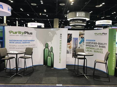 PurityPlus Pittcon exhibition