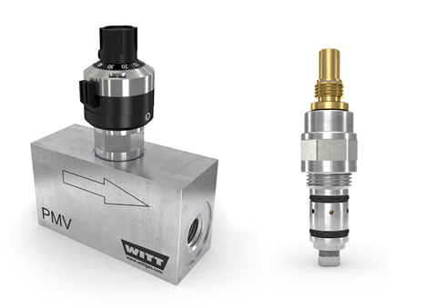 The precision metering valves