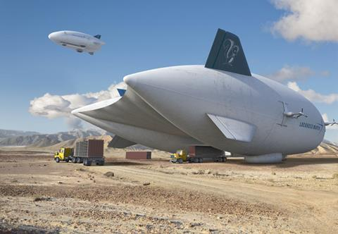 The LMH-1 Hybrid Airship makes it possible to affordably deliver heavy cargo and personnel to remote locations around the world. Burning less than one tenth the fuel of a helicopter per ton, the Hybrid Airship will redefine sustainability for the future.