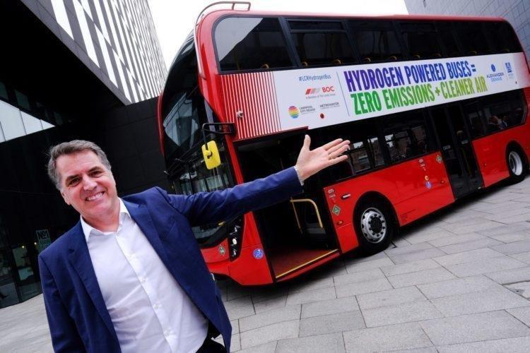 Liverpool City Region to trial hydrogen buses