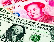 US China dollars money finance