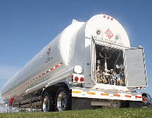 New LNG trailer