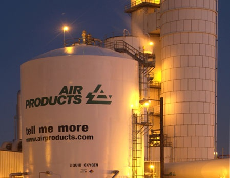 Air Products towers
