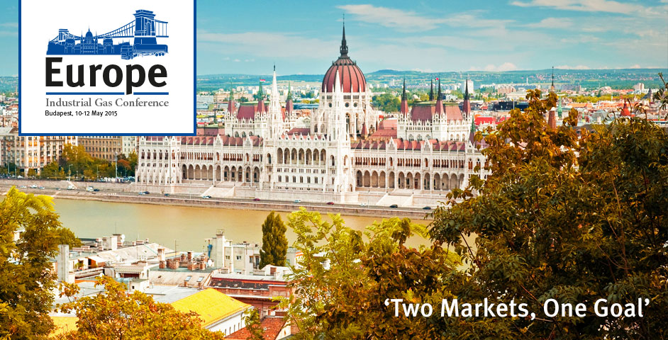 Europe Industrial Gas Conference - Budapest, 10-12 May 2015